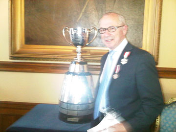 Tony and the Grey Cup