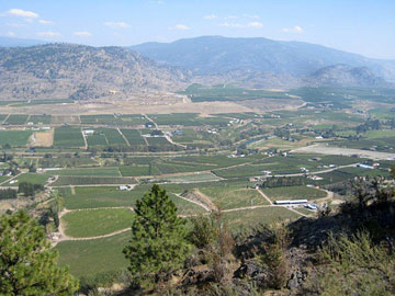 The south Okanagan, Canada's only desert