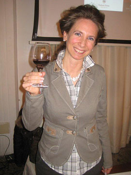 Oenologist  Barbara Tamburini