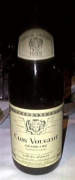 Jadot Clos Vougeot 1985