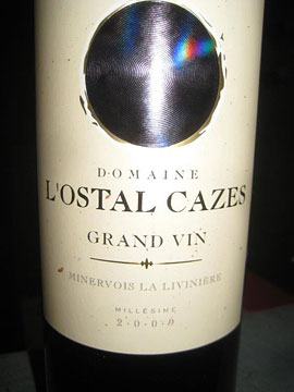 L'Ostal Cazes' flagship wine