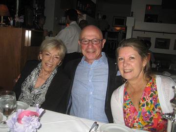 Brenda, Tony and Deborah at Bishops