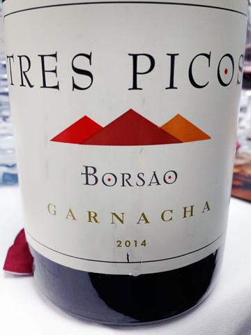 Tres Picos de Borsão Garnacha 2014