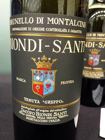 Biondi Santi Tenuta Greppo Brunello di Montalcino 'Annata' 2007