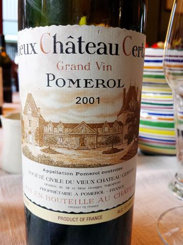 Vieux Château Certan 2001