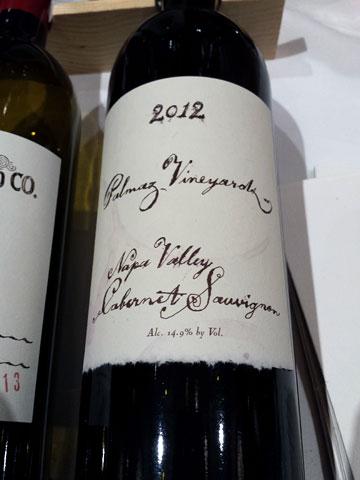 Palmaz Vineyards Cabernet Sauvignon 2012
