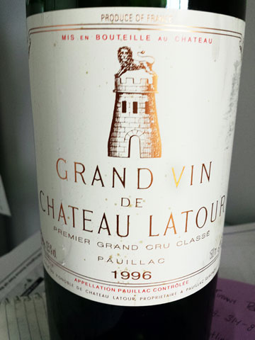 Château Latour 1996