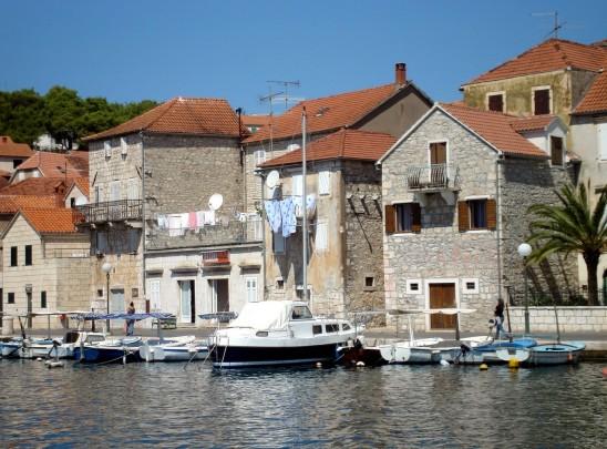 Milna, Brac, Croatia - where I plan to start writing the book