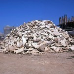 Mound of Tiles and Rubble