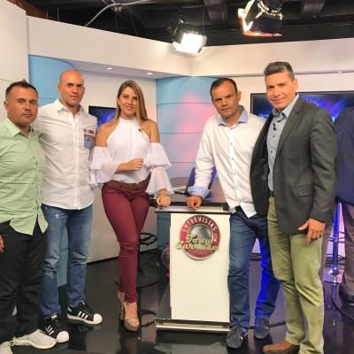 David Arroyo, Carlos Expósito y Hugo Savarese