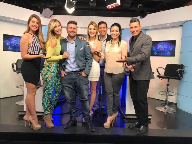 Staff Meridiano TV Rusia 2018