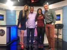 Marcos Oviedo y Maureen Baola