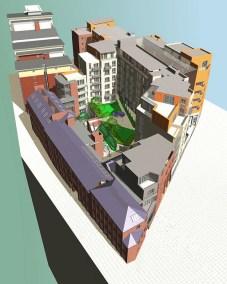 Impact Development, Upper Allen Street, St Vincent's Quarter, Sheffield