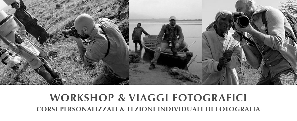 Workshop fotografici Tony Corocher