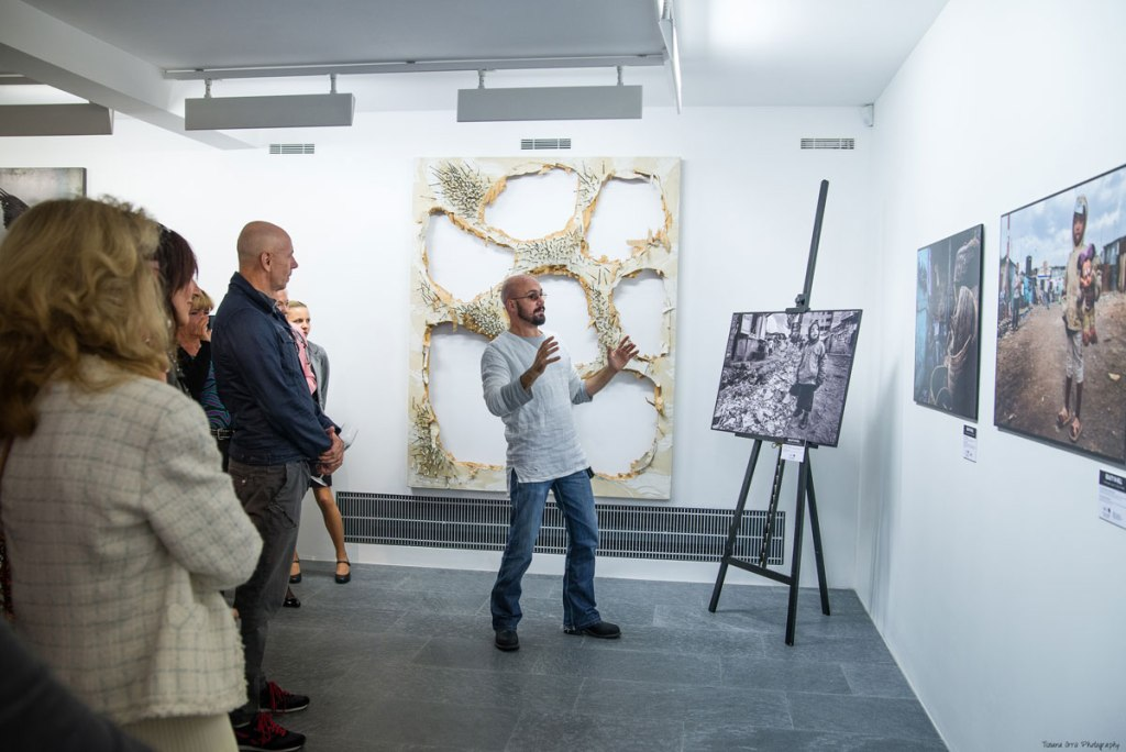 tony corocher exhibition Ghisla Museum