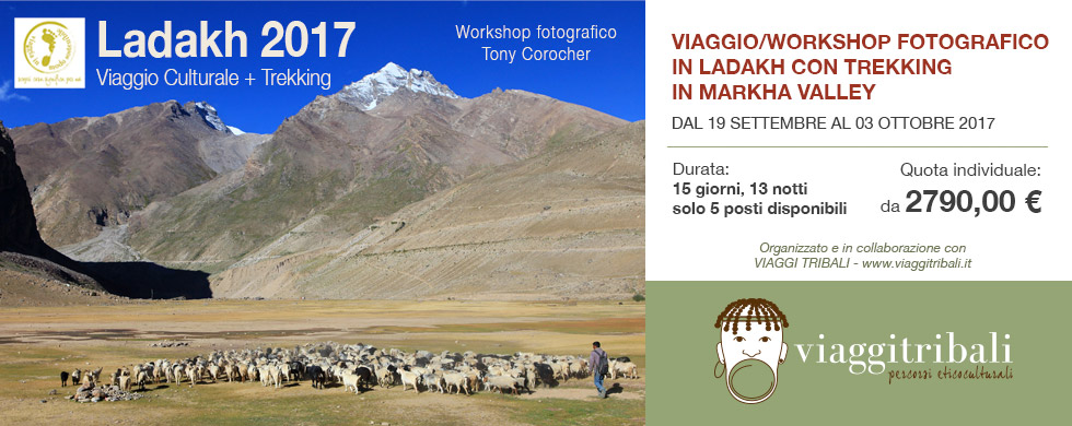 workshop fotografico ladakh, tony corocher