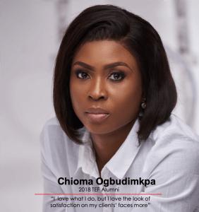 Chioma Ogbudimkpa, Tony Elumelu Entrepreneur