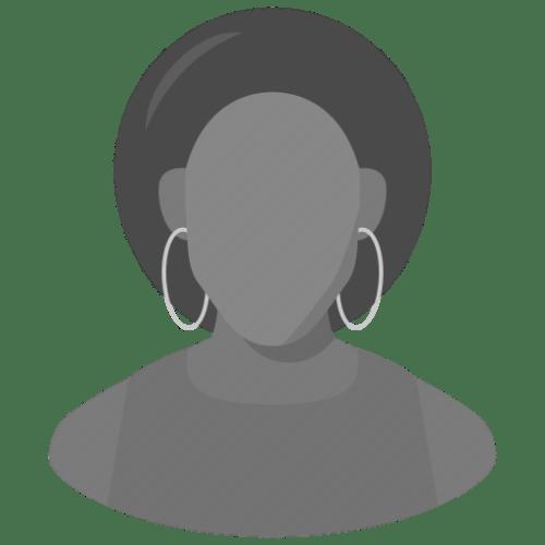 silhouette headshot women