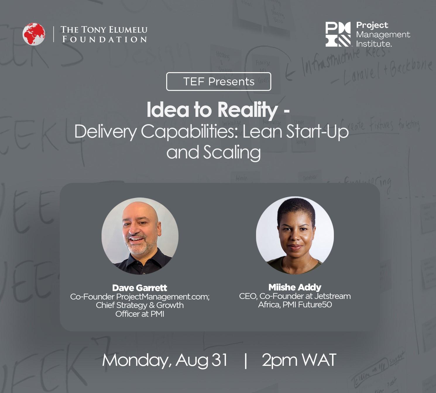 TEF Masterclass-Delivery Capabilities