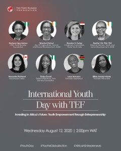TEF Youth Day - Speakers