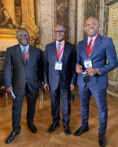 Tony Elumelu at Choose Submit