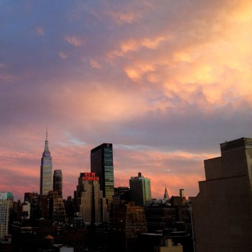 ESB with Pink Sky