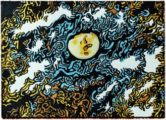 Sketchbook Moon w MarkersSM