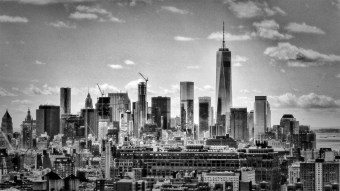 Freedom Tower 2 B&W