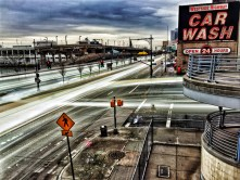 Westside Highway & Car Wash Long Exposure #5