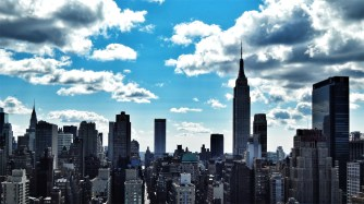 NYC Skyline with The Empire State Building