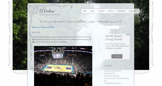 TJ Online WordPress Theme 2