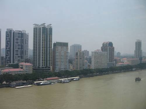 Guangzhou and the Pearl River