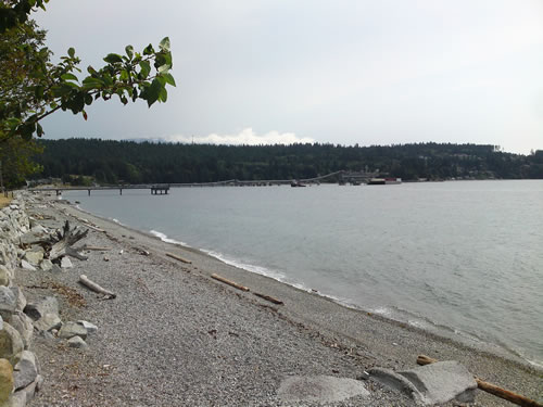 First pier at Sechelt