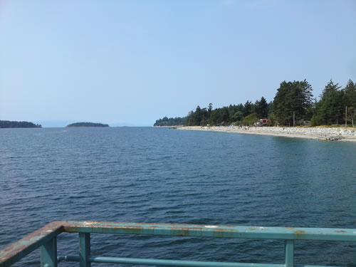 View from first pier at Sechelt