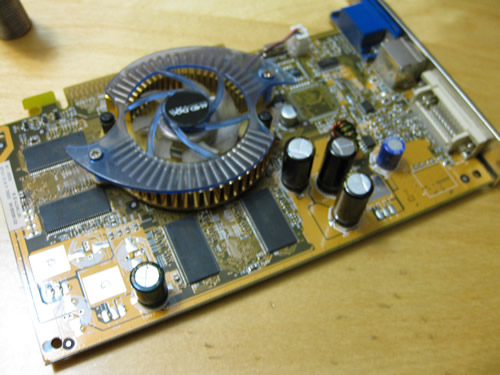3 Capacitors Replaced
