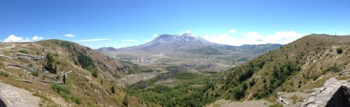 Mount St Helen Loowit view point
