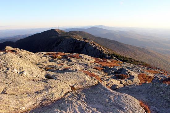 Mount Mansfield ridge