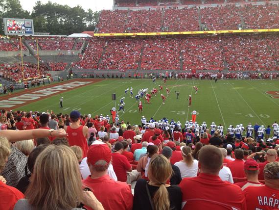 NCSU vs Presbyterian football