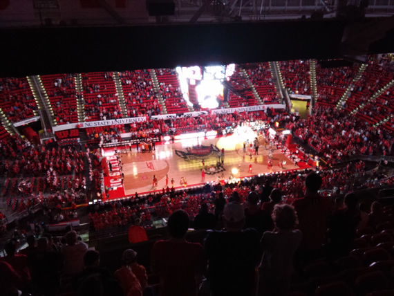 NC State vs UTK basketball