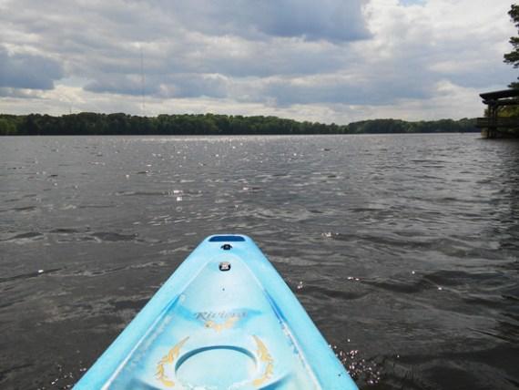 weekend kayaking