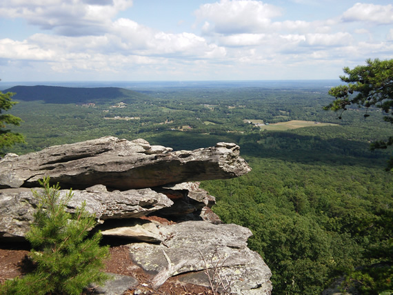 Hanging Rock State Park Wolf Rock