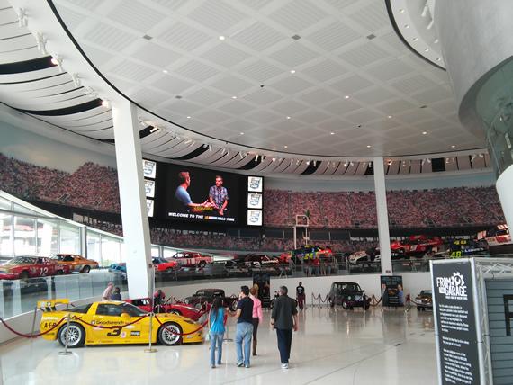 NASCAR hall of fame great hall