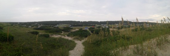 Ocracoke Island campground