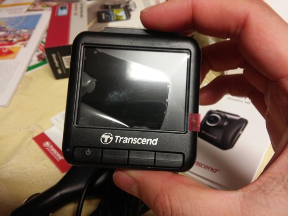 Transcend DrivePro 100 camera back