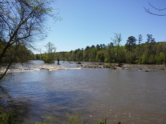 Haw River Bynum Mill Access