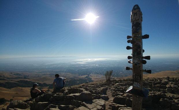 Mission Peak summit