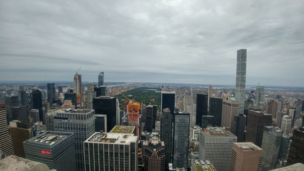 Top of the Rock north