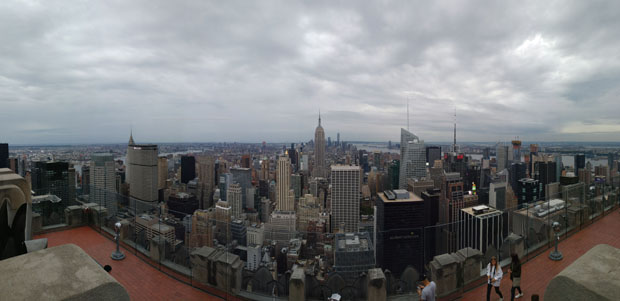 Top of the Rock south