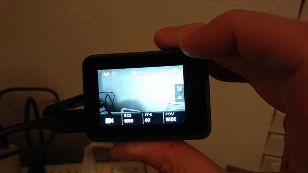 GoPro HERO6 on