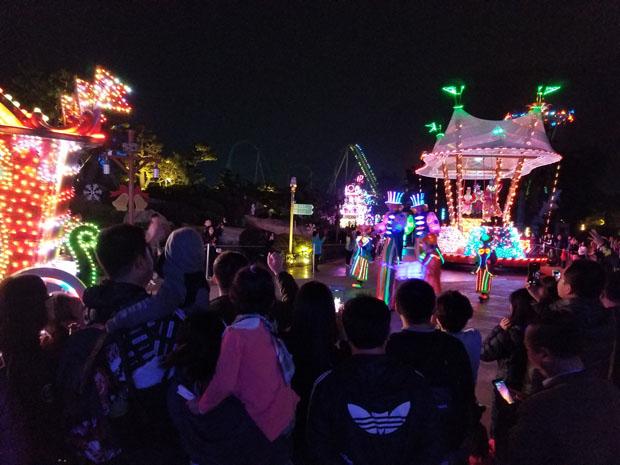 Chimelong night parade